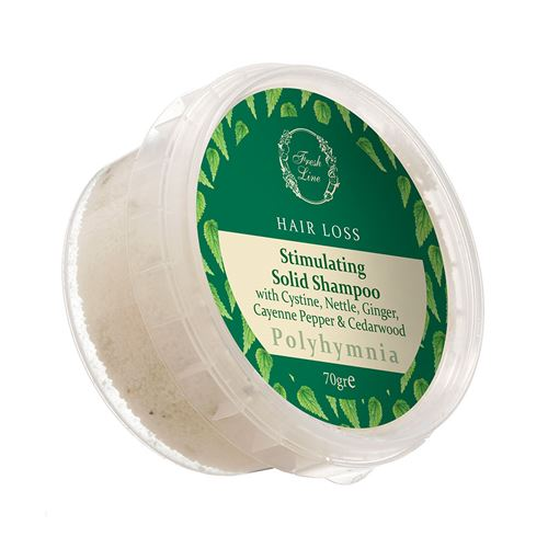 Stimulating & Strengthening </br>Solid Shampoo </br>with Cystine & Nettle