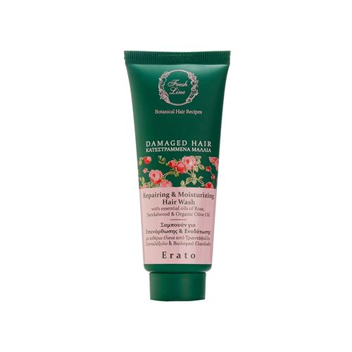 Repairing & Moisturizing </br>Hair Wash </br>with Rose & Sandalwood