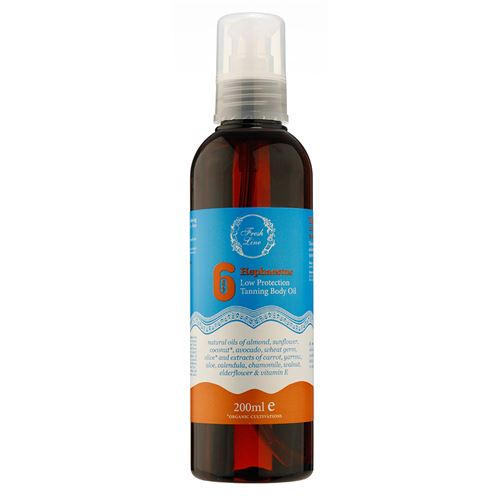 Tanning Body Oil SPF6 </br> Low Protection