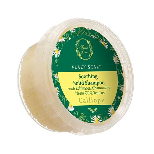 Soothing </br>Solid Shampoo</br> with Echinacea & Chamomile