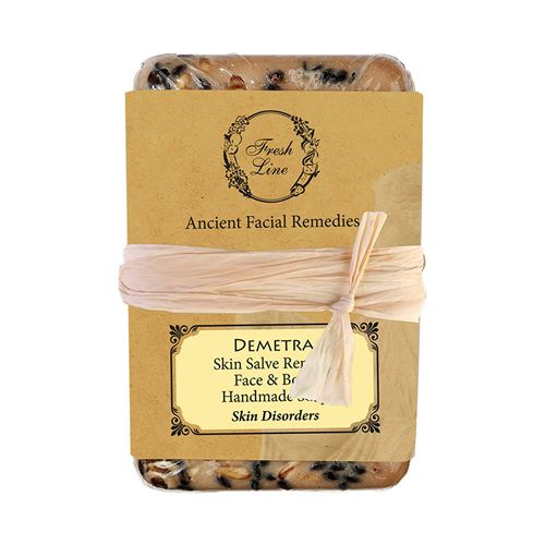 Handmade Soap </br>for Face & Body </br>with oat and chamomile