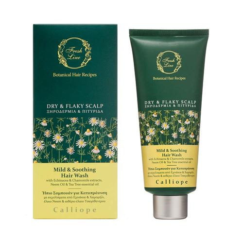 Mild & Soothing</br> Hair Wash </br>with Echinacea & Chamomile