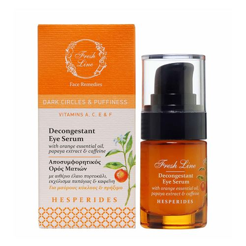 Decongestant Eye Serum</br>with orange, papaya & caffeine