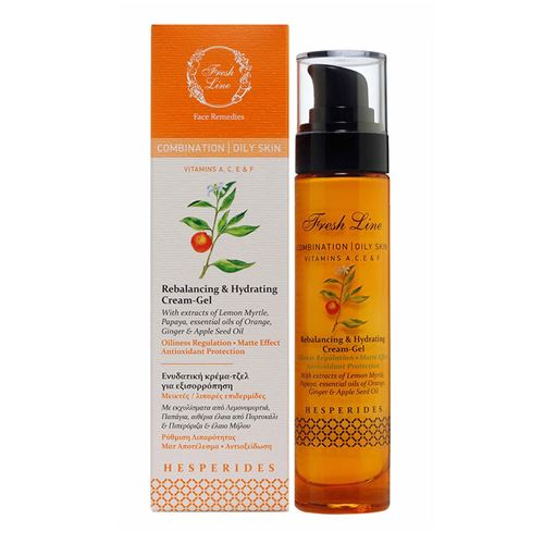Rebalancing & Hydrating Cream Gel </br>with lemon myrtle, papaya & orange