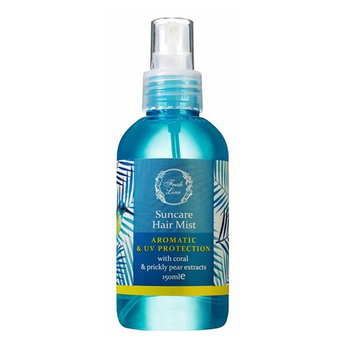 UV Protection Hair Mist with coral & prickly pear
