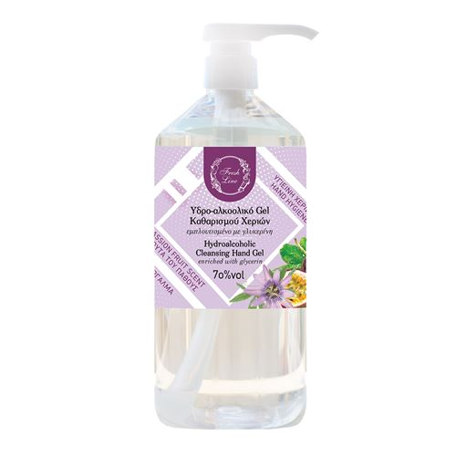 Hydroalcoholic cleansing hand gel 1lt